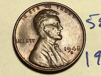 1948 S LINCOLN WHEAT CENT PENNY 5869K