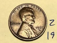 1937-S LINCOLN WHEAT CENT PENNY 2113K