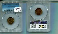 1935 P LINCOLN HEAD PENNY PCGS MINT STATE 65 RED 8262N