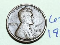 1918 LINCOLN CENT WHEAT CENT 6245K