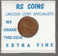1937S  LINCOLN  CENT   TOUGH TO GET HI GRADE  EXTRA FINE  LOT 111807