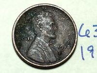 1918 LINCOLN CENT WHEAT CENT 6348K