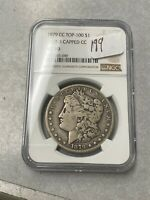 1879-CC TOP-100 VAM-3 MORGAN SILVER DOLLAR NGC VG-10 049