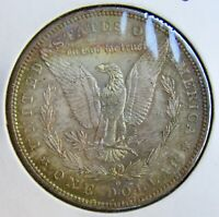 1883-O $1 MORGAN SILVER DOLLAR UNCIRCULATED PRETTY COLOR REVERSE RAINBOW