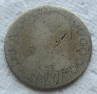 1820 CAPPED BUST DIME  DATE EARLY LARGE DIAMETER SCRATCHED FILLER