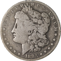 1883-O MORGAN SILVER DOLLAR - ERROR - ROTATED REVERSE GREAT DEALS FROM THE EXECU