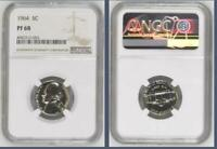 USA 1964 NICKEL PROOF 68 NGC   WOULD YOU PAY $13 200 FOR THIS? I HOPE NOT BUT