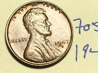 1947-D LINCOLN WHEAT CENT PENNY 1C 7054K