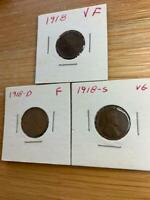 1918-D LINCOLN WHEAT CENT CENT