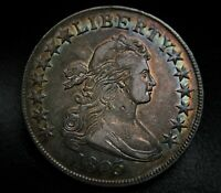 BEAUTIFUL 1803 BUST HALF DOLLAR SILVER 50C TYPE COIN ALMOST