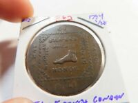 F62 GREAT BRITAIN 1794 ANTI FRENCH CONDER 1/2 PENNY