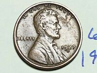 1927 D LINCOLN CENT WHEAT CENT 6226K  DETAIL