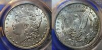 1899 MORGAN SILVER DOLLAR $1 PCGS MINT STATE 63  R ISSUE