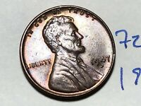 1947-D LINCOLN WHEAT CENT PENNY 1C 7282K