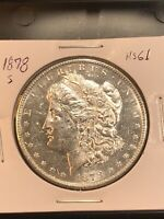 1878 S MORGAN SILVER DOLLAR UNCIRCULATED US