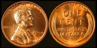 GENUINE 1954D LINCOLN WHEAT CENT RED UNCIRCULATED