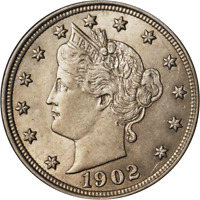 1902 LIBERTY V NICKEL GREAT DEALS FROM THE EXECUTIVE COIN COMPANY