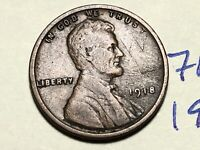 1918 LINCOLN CENT WHEAT CENT 7665K