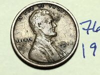 1918 LINCOLN CENT WHEAT CENT 7677K