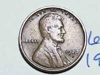 1927 D LINCOLN CENT WHEAT CENT 6205K