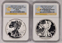 2013 W NGC PF70 FIRST RELEASES .999 FINE SILVER AMERICAN EAG