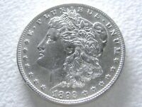 1892-O MORGAN DOLLAR, CHOICE LUSTROUS WHITE OFTEN OVERLOOKED DATE 21-H