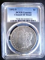 1892-S MORGAN DOLLAR PCGS EXTRA FINE -DETAILS, LOTS OF DETAIL FOR THIS GRADE