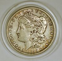 1899-S MORGAN SILVER DOLLAR COIN FROM THE SAN FRANCISCO MINT