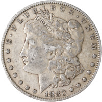 1880-P MORGAN SILVER DOLLAR - VAM GREAT DEALS FROM THE EXECUTIVE COIN COMPANY