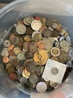 OLD WORLD COIN LOT   3 POUNDS   LESS THAN PERFECT   LOT A6