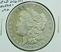 1879 CC CARSON CITY MORGAN SILVER DOLLAR LOW MINTAGE FINE DETAIL CLEANED