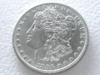 1896-O MORGAN DOLLAR,  STRONG DETAIL SEMI-PL REV 7-U