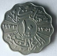 1933 IRAQ 10 FILS    KEY TYPE   EXCELLENT COIN   LOT A10