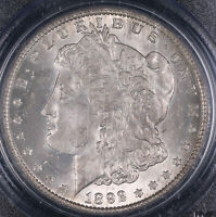1892 O MORGAN SILVER DOLLAR COIN PCGS MINT STATE 64