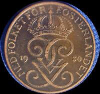 SWEDEN 1930 5 ORE OLD WORLD COIN
