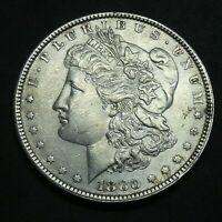 1880 $1 MORGAN SILVER DOLLAR US MINT COIN