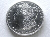 1892-CC MORGAN SILVER DOLLAR, EXTREME DETAIL PROOF-LIKE FIELDS 8-L