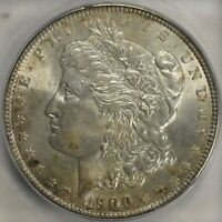 1900-P MORGAN SILVER $1 ICG MINT STATE 66 LIGHTLY TONED  THIS  LISTS FOR $450