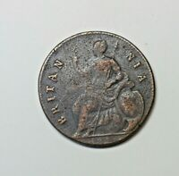 GREAT BRITAIN HALFPENNY 1672   75. CHARLES 11.