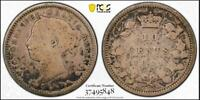 CANADA 1891 10 CENTS 21 LEAVES PCGS VG10