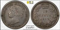 CANADA 1872 H 10 CENTS PCGS XF40