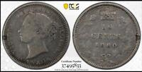 CANADA 1880 H 10 CENTS PCGS F12