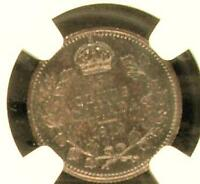 CANADA 1912 5 CENTS NGC MS63