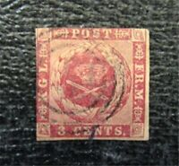 NYSTAMPS US DANISH WEST INDIES STAMP  1 USED $275   M28X1044