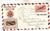 C28 AIRMAIL FIRST DAY COVER
