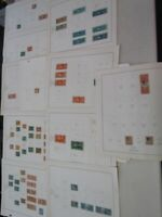 NYSTAMPS S OLD US BOB REVENUE STAMP COLLECTION SCOTT PAGE