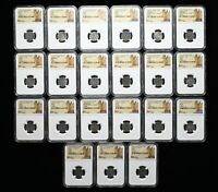 FRANCE. WHOLESALE LOT OF 21 DENIER TOURNOIS OF ASSORTED KING