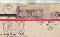 FIRST ROUND THE WORLD FLIGHT COVER