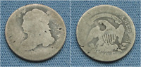 DATELESS CAPPED BUST DIME 10C NO DATE