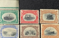 1901 1940: UNUSED US STAMPS COLLECTIONS LOTS 19TH CENTURY: 6